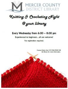 Knitting and Crocheting Night