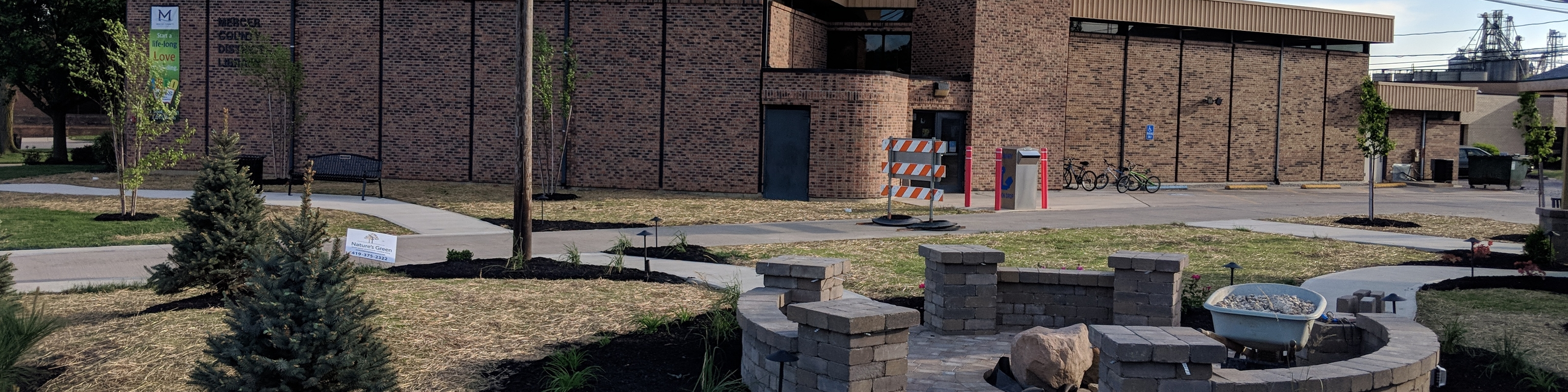 Marilyn Frahm Memorial Library Park Project