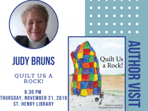 Author Visit with Judy Bruns Flyer